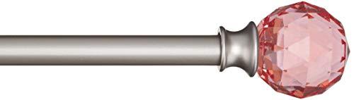 ASTA PRENDIABITI Telescopica in Metallo da 150 cm ALLUNGABILE CROMATA