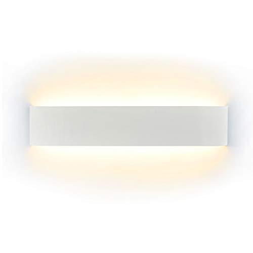 HAWEE Humanoid Creativo Lampada da Parete Interno Applique da Parete Moderna Lampada a Muro Applique Candelabro Max 60W E27 per Camera da Letto, Soggiorno, Camera per Bambini, Corridoio, Scala, Bianco