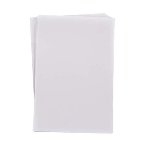 Artibetter 50 Fogli di Calligrafia Cinese Pennello Inchiostro Scrittura Carta Sumi/Carta Xuan/Carta di Riso per Calligrafia Cinese Pennello Scrittura Sumi Set