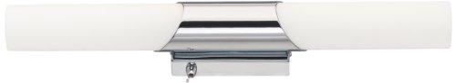 Solupa – Lampada Applique LED da Specchio per Bagno Pavo – Driver Integrato – Alluminio – IP44 – 30 x 11.50 x 4.50 cm / 6 w / 480 lm / Luce naturale