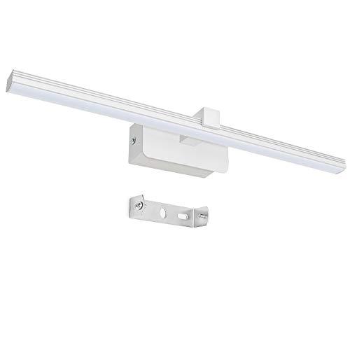 Applique Spot/Soffitto di soffitto LED/Spot/GU10/3W/250lumen/orientabile/con anello in Cromo/nichel opaco