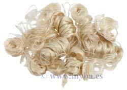 Spessore naturale parrucca capelli lisci bambola giocattolo Parrucchino accessori bambini Gift Qingsb
