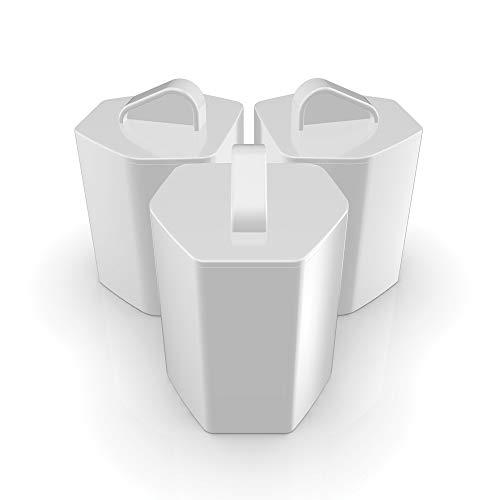 Wunderfabrik Magnetico Palla Contro Il calcare, 2X lavastoviglie + 2X Lavatrice, 4Pezzi