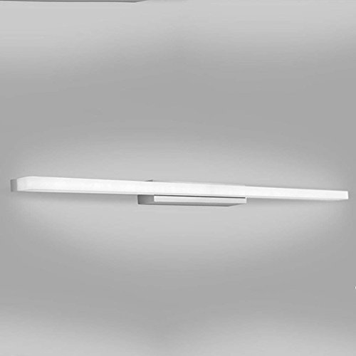 SEBSON® LED Lampada da specchio per bagno 40cm, IP44, lampada morsetto + armadio, Bianco neutro 4000K, 400x106x40mm, 8W, 600lm