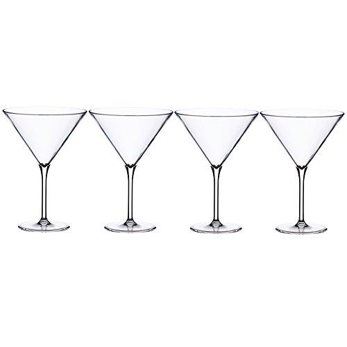 Bormioli Confezione 4 Calici Martini, 4 unità