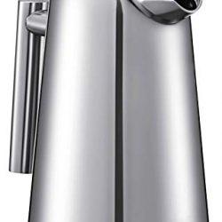Utopia Kitchen – (1 L/ 1000 ml) 32 oz francese frullatore a doppio muro di espresso e creatore di tè In acciaio inox