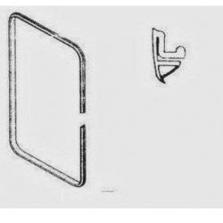 578Y12 – Cornice per microonde 60X40 Cm argento