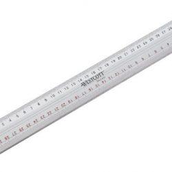 Westcott E-10113 00 Righello da taglio con bordo in metallo, 50 cm, argento