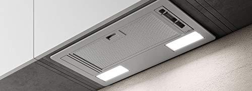 FABER Cappa ad incasso 2152 LG finitura grigio chiaro da 60cm