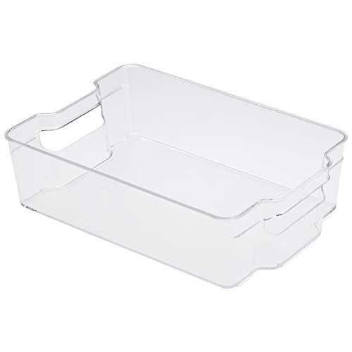 Stefanplast Bacinella frigo in plastica 50x35x12h cm, 15 L, Bianco