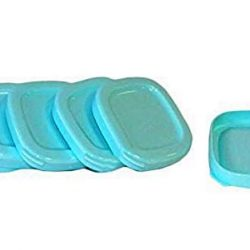 PEARL Bicchieri di ricambio per yogurtiera, 4 pezzi