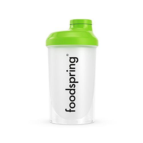 Shaker per Proteine 700 ml del marchio sportivo professionale FSA Nutrition con scala di misurazione e tappo a vite, per frullati dietetici e proteici, privo di BPA – Trasparente