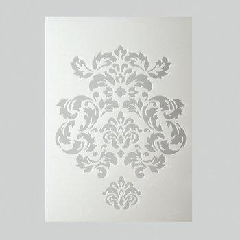 Aleks Melnyk #44 Stencil in Metallo Riutilizzabili per Pittura, 3 pezzi/Stampo Stencil con Alfabeto, Lettere Grandi, Numeri/Template di Pittura Decorativo, DIY/Stencil per Scrapbook