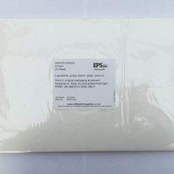 Carta adesiva lucida, formato A4, autoadesiva, per stampanti laser e a getto d'inchiostro.