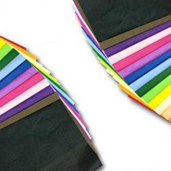 Carta velina, foglio 50 x 70 cm, 14 g, colori assortiti, 300 fogli