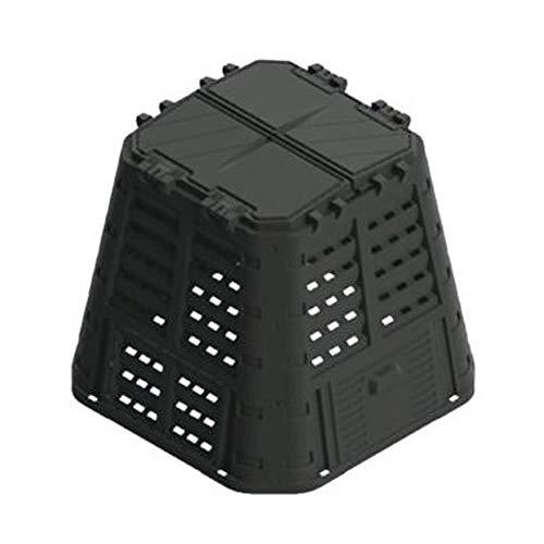 Wiltec Compostiera Girevole da Giardino composter Rotante a Due Scomparti 160 Litri