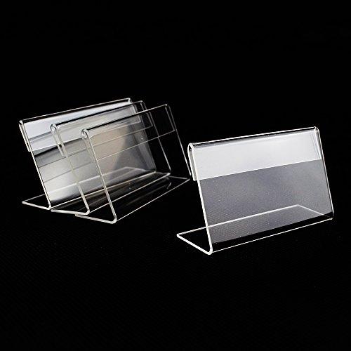 Sigel TA210espositore da tavolo inclinato, per A4, 3pezzi, acrilico–Ulteriori misure