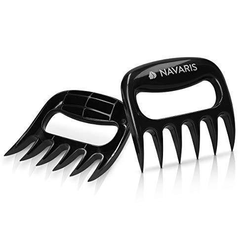 Kitchendao carne artigli, tirato maiale Shredder, Lift & grip & Pull & Shred BBQ forchette, Lock & solido 2