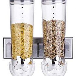 Il Tuo Tendenza Unica Dispenser di Cereali di plastica Polipropilene Rosso.Alta capacità di archiviazione E Base Larga.