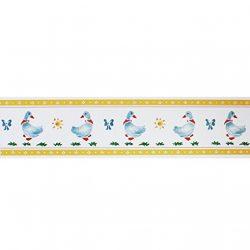Bordo adesivo bambini Winnie The Pooh and Friends – Misure: 10 m. x 13,3 cm altezza – Decorazione per camerette e sale gioco – Bordo autoadesivo