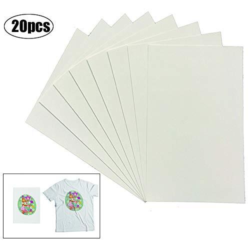 5 fogli di carta copiativa multicolore al carbonio, solubile in acqua, 27,9 x 22,9 cm, modello trasferibile su tessuto, tela, accessori per cucito