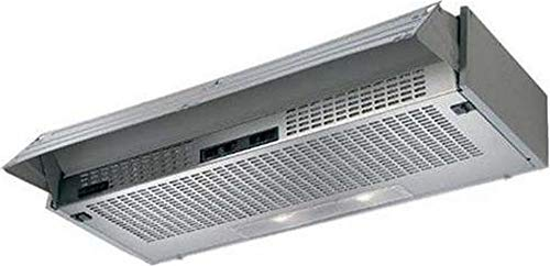 Cappa aspirante SH60-IX in acciaio inox, illuminazione LED, aspirazione perimetrale, 60cm, aspiratore inclinato
