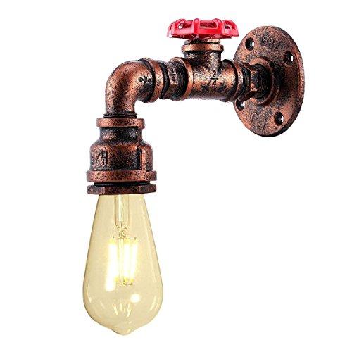 Maxmer 6W LED Applique da Parete Interno Regolabile a 360°Lampada da Parete Moderna Lampada da Muro per Camera da Letto Salotto Scale