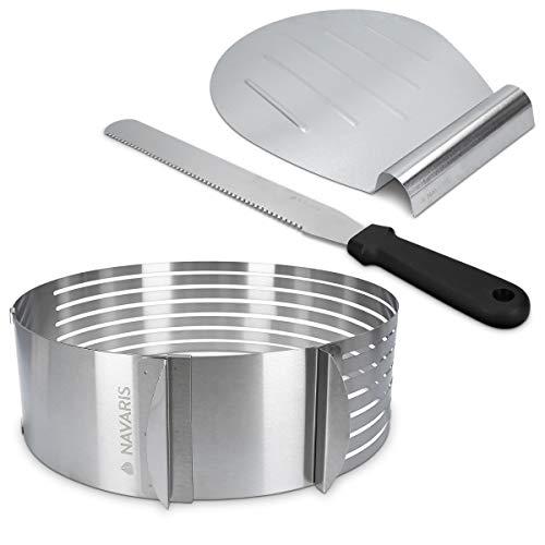 """JPF – Set di 3 Chef Coppapasta """"Anello"""" – Stampo Circolare – Acciaio Inox – 6, 8 e 10 cm 2"""