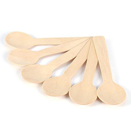 Da.W, cucchiai e mestoli in legno per bambini, 10pezzi