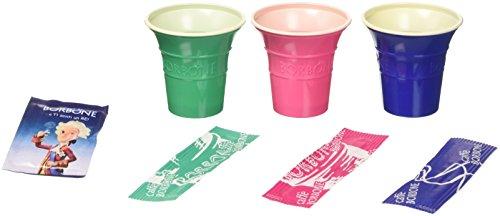 MGGI Trading 100pz Bicchiere di Carta per Bevande Calde 7 OZ – 200 ml – 100pcs 7oz Paper Cups for Hot And Cold Drinks