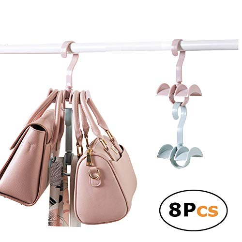 mDesign Porta Sciarpe salvaspazio – Perfetto per Tenere in Ordine Sciarpe e Foulard nell'armadio ma Anche Come portacravatte – 18 vani – Colore: Trasparente – Set da 2