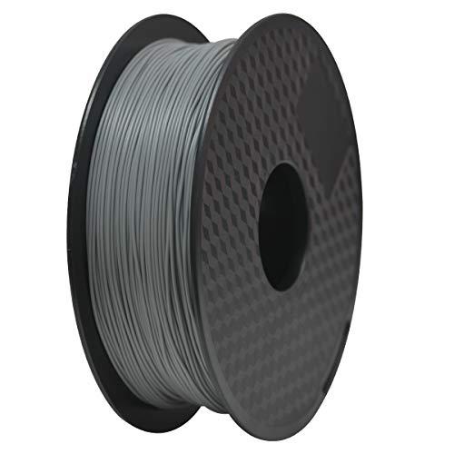 TIANSE Bianco Filamento PLA per stampanti 3D /penne 3D, 1,75 mm, litofania, precisione dimensionale +/- 0,03 mm (2,2 lbs.)