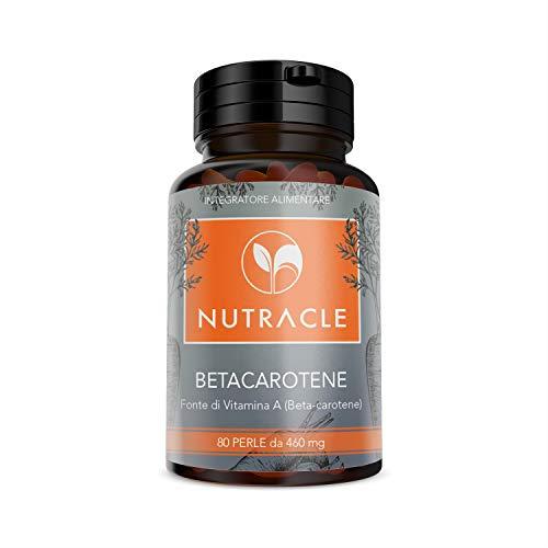 Vitamina A Beta Carotene 11 500 IU – 150 pz (Scorta 5 Mesi) di Capsule a Disgregazione Rapida con 6,9mg Betacarotene Polvere Qualità Premium, di TUDIMO