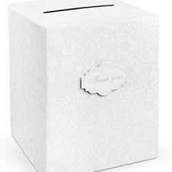 Wedding Card Box Matrimonio con Decorazioni Rose – Scatola Porta Buste Matrimonio