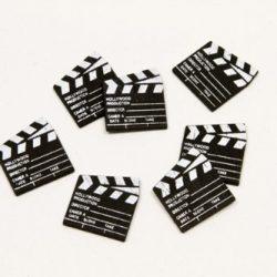 12 Pollici Alto Fuoco Artificiale Falso Fiamma Carta 3D Decorativo Cartone Fuoco all'Aperto Centrotavola Fiamma Torcia per Decorazioni di Festa del Fuoco all'Aperto (2 Set Stile B)