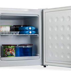 PremierTech Frigorifero doppia porta 204 litri A++ 40dB con congelatore 4 **** stelle luce interna PT-F210S