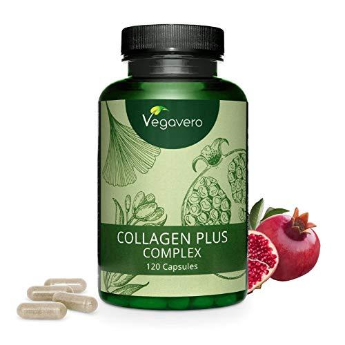 QUALNAT – Collagene con acido ialuronico e coenzima Q10, Vitamina C + Collagene Marino Q10-180 CAP 2