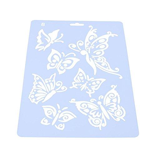 zmigrapddn da taglio, arrampicata fustelle fiori di orchidea, Handmade DIY stencil modello di goffratura per scrapbooking Craft