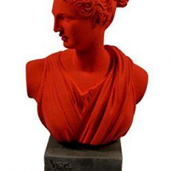 Estia Creations Hygeia Scultura dea Greca Antica della Salute Museum Reproduction Testa Busto