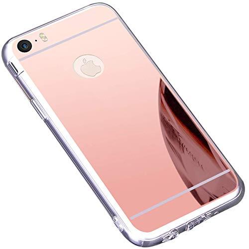 Ukayfe Custodia iPhone 6,Cover iPhone 6S,Custodia Specchio in TPU ...