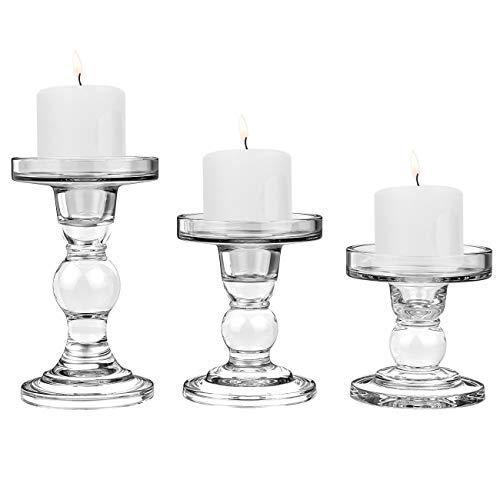 Candeliere con 5 bracci in metallo – Stile barocco – Color ARGENTO .
