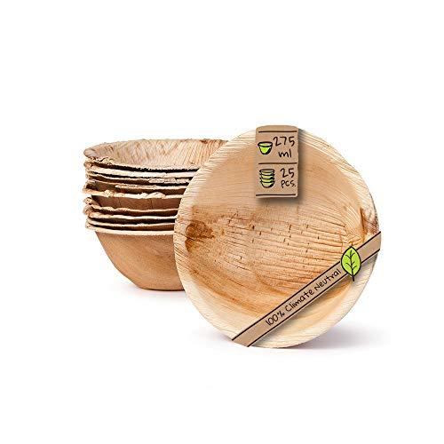 Coconut ciotola e cucchiaio (set da 4) – 100% naturale,fatta a mano,lucidato con olio di cocco, durevole,leggero,facile da pulire,a lunga durata,vegan friendly.Per la colazione,da portata,decorazione