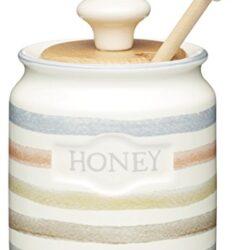 Bestonzon – Contenitore per servire il miele, con cucchiaio dosatore, 250ml, in Vetro trasparente 2