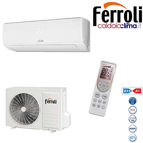 Daikin Sensira, FTXC25B + RXC25B – Climatizzatore monosplit, 9000 btu, Classe A++/A+, Deumidificatore
