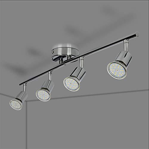 Philips Lighting Black LED Spot Light Philips Faretto Kosipo con 3 Punti Luce, Attacco GU10, Lampadina Non Inclusa, Nero, 7×44.3×9.2 cm