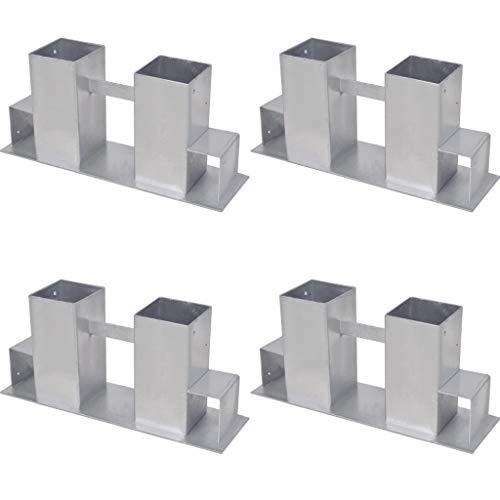 homcom Scaffale Porta Legna Legnaia Verticale Supporto per Camino 100kg Metallo 40 × 25 × 100cm