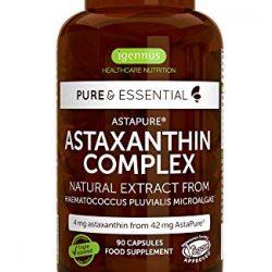 Astaxantina 8 Milligram 60 Capsule 100 Per Cento Naturale Haematococcus Pluvialis Alghe Vita World Produzione Farmacia Germania Antiossidanti