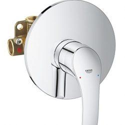 Grohe 33555002 Eurosmart New Miscelatore Monocomando per Doccia, Cromo, Esterno