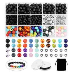 Pacco 50 x Argento Ottone Placcato 8mm Distanziatore Satinato Tondo – (HA01920) – Charming Beads