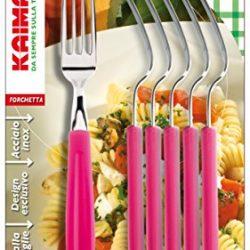 6forchette da tavola Bistro Serie di posate–forchetta da bistecca forchette in della Serie Kerafactum
